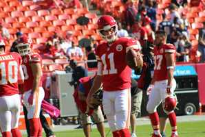 Chiefs quarterback threw for 226 yards, despite Kansas City's offense getting plenty of production from the running game.