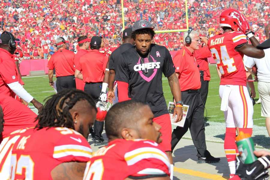 Chiefs star safety Eric Berry missed another game with injury.