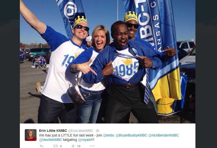 KMBC's First Alert weather team returned to the K to barbecue with Royals fans and hand out some great giveaways.