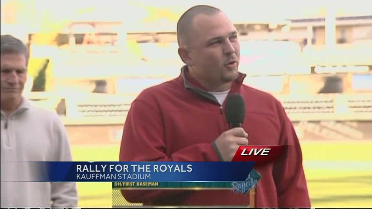 Kansas City Royals designated hitter Billy Butler thanks all the fans for a wonderful 2014 season.