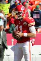 Alex Smith completed 21 of 31 passes.