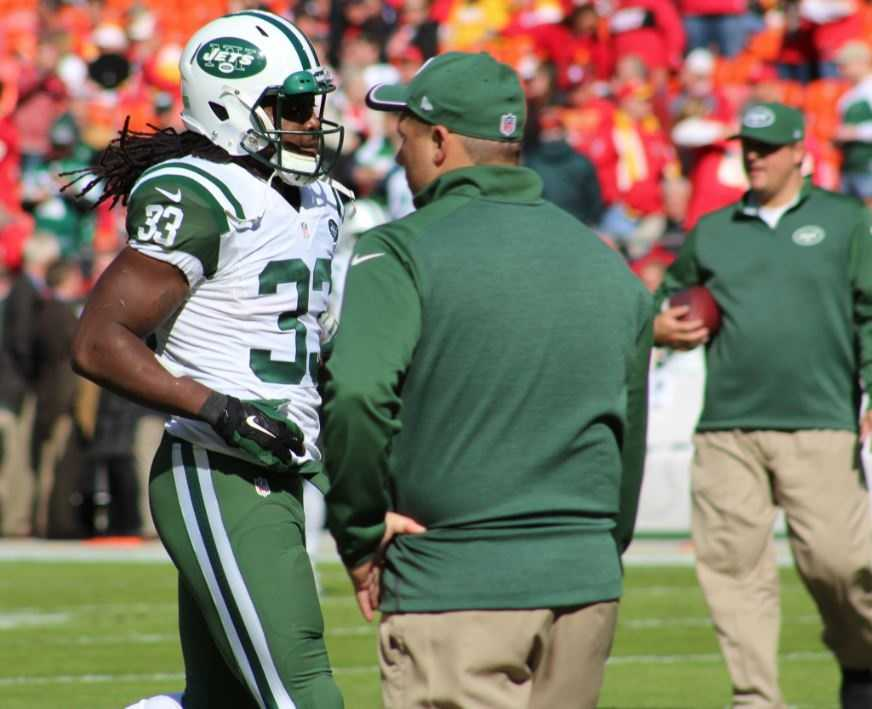 The Chiefs defense held Jets running backs Chris Johnson and Chris Ivory in check. The two rushed for a combined 99 yards with no touchdowns.