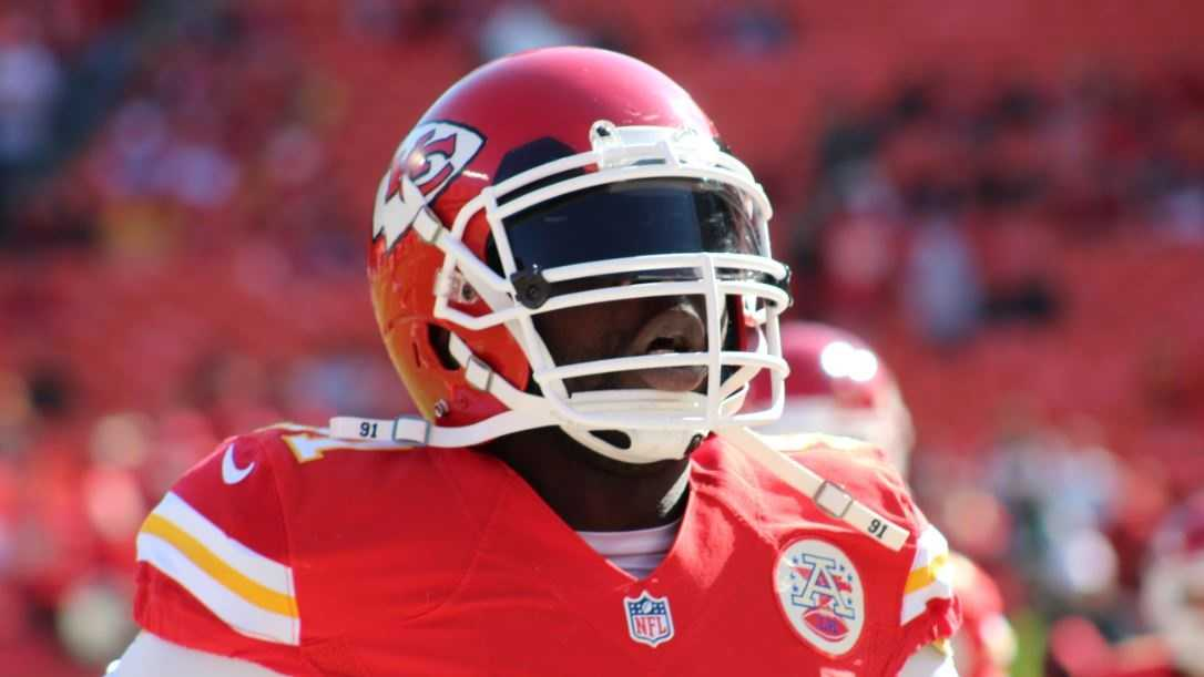 Chiefs linebacker Tamba Hali registered five tackles.