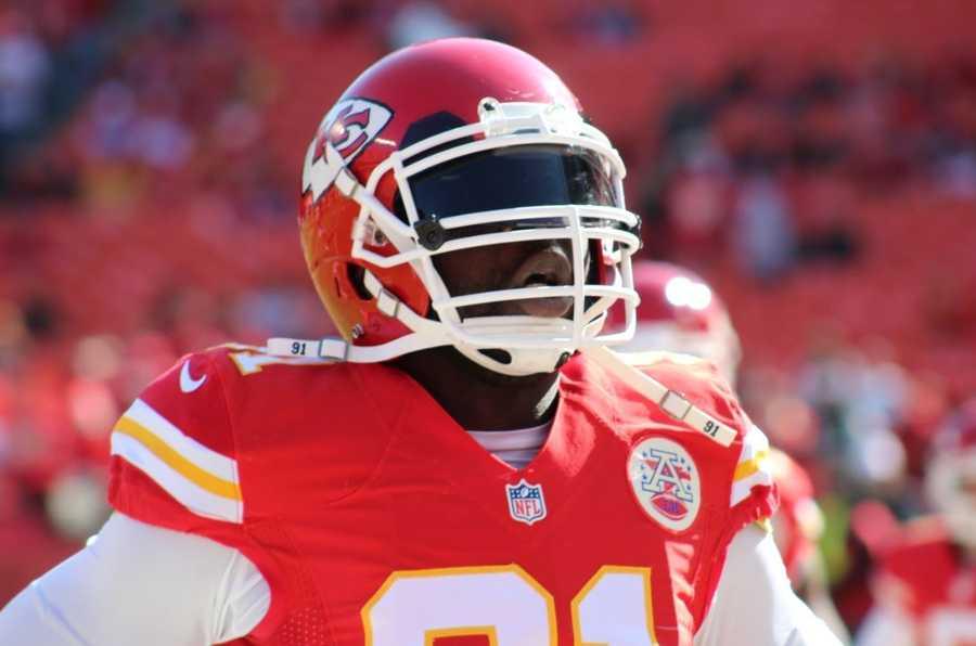 Chiefs linebacker Tamba Hali registered five tackles.