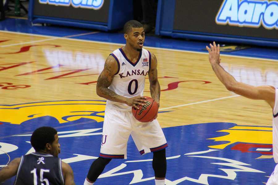 Kansas defeated Washburn 85-53 in exhibition.