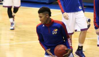 Kelly Oubre Jr., a 6-7 forward from New Orleans, joins another talented freshman class for Kansas.