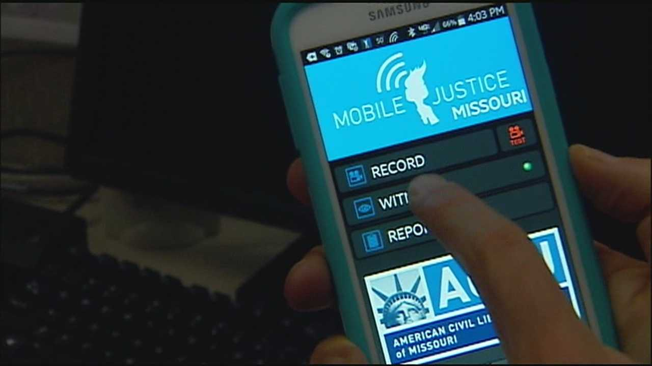 The American Civil Liberties Union in Missouri has released a new app that will help users keep a record of their encounters with police officers.