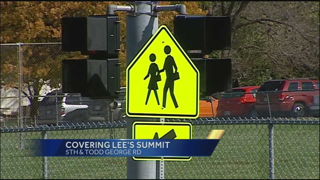 KMBC's Peggy Breit explains what led to a lockdown at a Lee's Summit, Mo., school on Friday morning.
