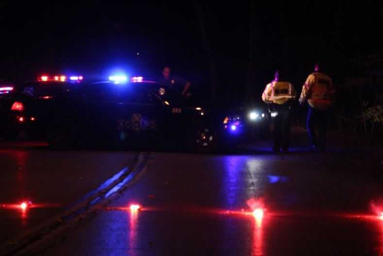 A man is in serious condition after losing control of his pickup truck.  The 32-year-old drove down a ravine in Swope Park Monday night.  Kansas City police say no one else was inside the vehicle.