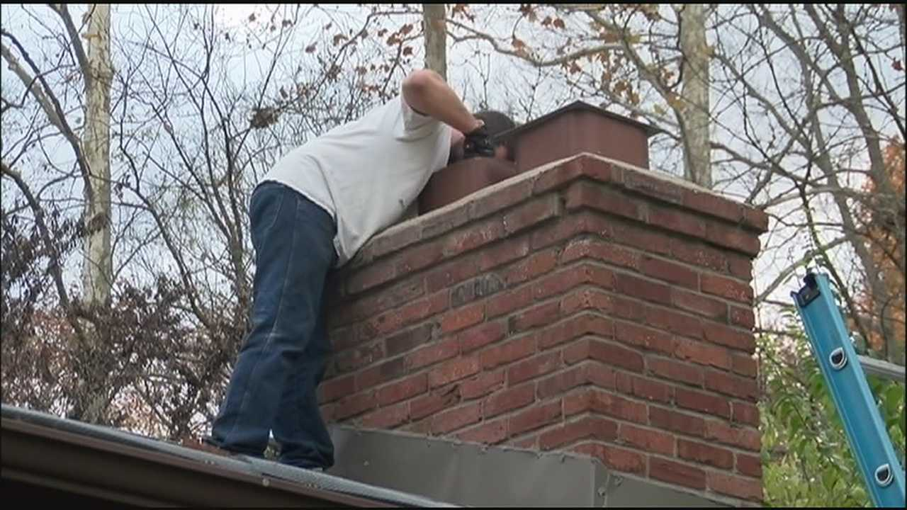 Experts urge people with chimneys to make sure to have them swept before using them over the winter, because creosote build-ups can cause a significant fire danger.