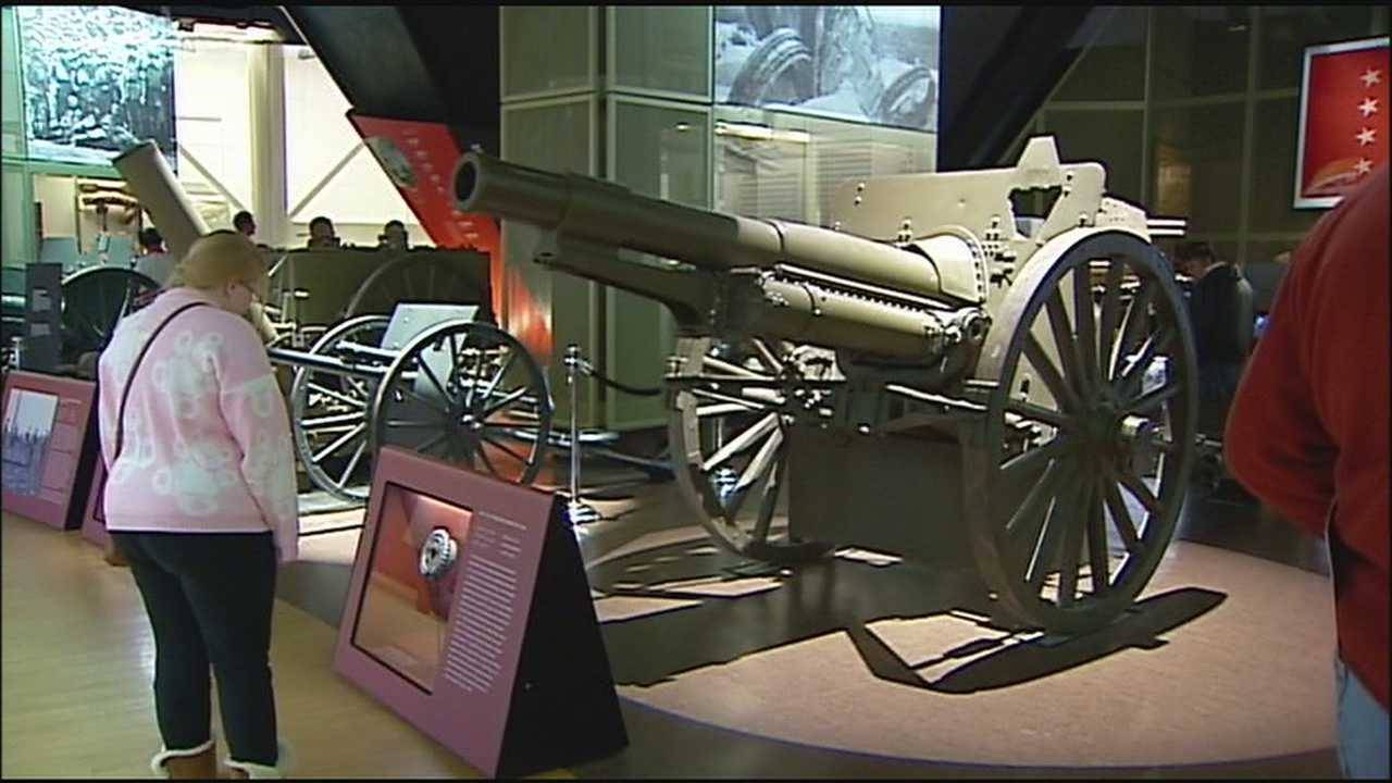 A Veterans Day event at Kansas City's World War I Museum at Liberty Memorial gave some people the chance to explore the highly regarded museum for the first time.