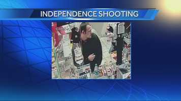 Video surveillance from the Shell station captured the images of a man and woman that police said are persons of interest.