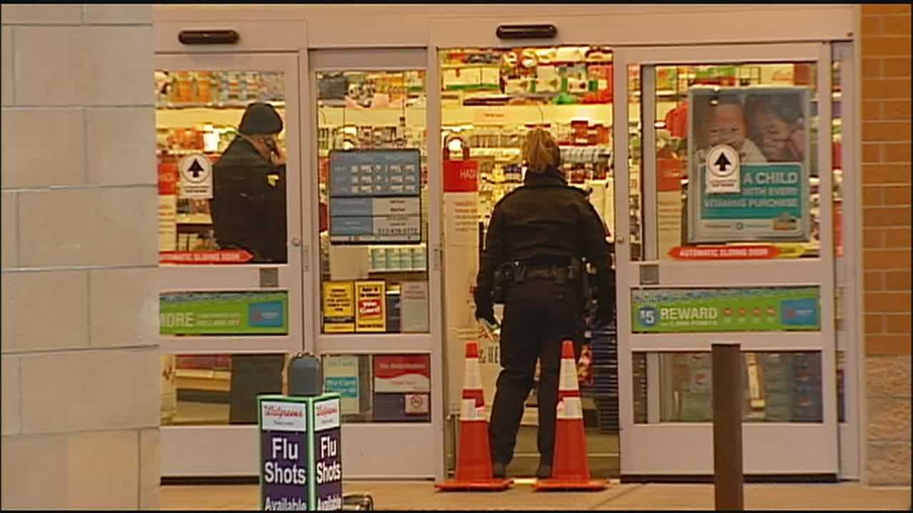 An Overland Park neighborhood was swarmed by police Friday morning after thieves attempted to steal an ATM from an area store.