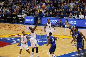 Freshman Cliff Alexander awoke in the second half on the offensive end. He scored nine points including two jump shots from just inside the 3-point line.