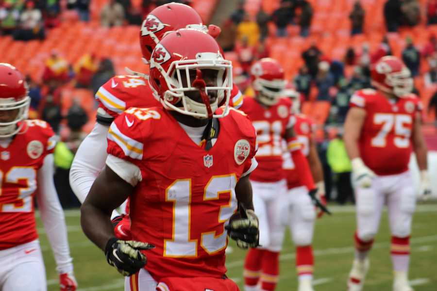 Rookie De'Anthony Thomas caught an early pass for 10 yards.  He also rushed the ball 3 times for 22 yards.