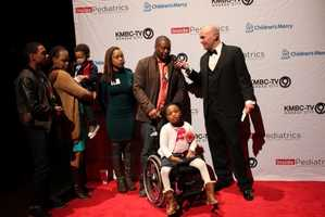 "Children's Mercy rolls out the red carpet for families at the premiere party for ""Inside Pediatrics."""