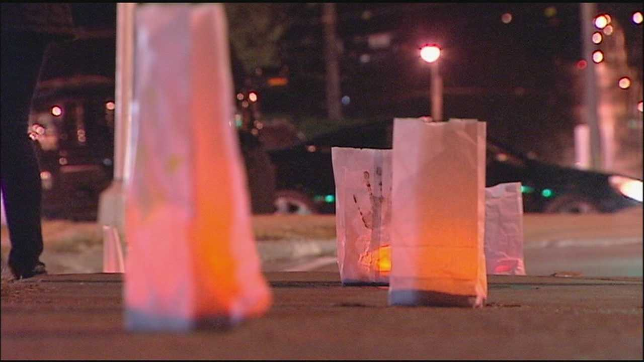 Genesis School held a Promise of Peace rally Thursday evening, lighting luminaries in honor of recent victims of violence and making a call for that violence to stop.