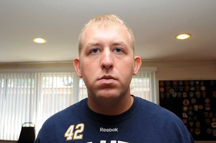 Images released Monday night by officials after a Ferguson grand jury decided not to indict officer Darren Wilson in the deadly shooting of Michael Brown.