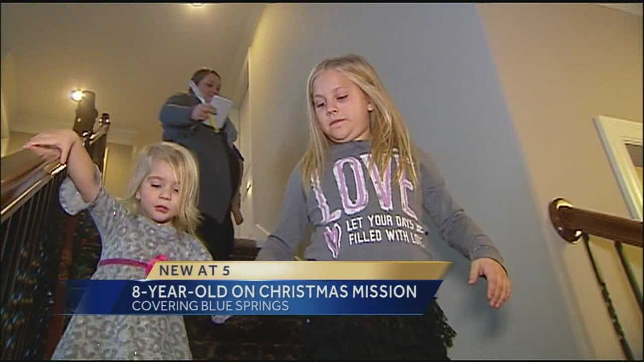 Alli's little heart is accomplishing some big things this holiday season.
