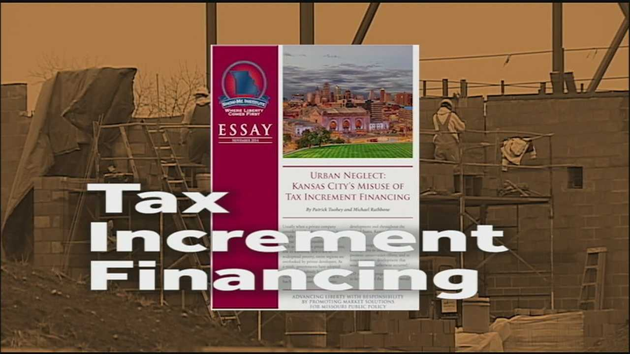 A new report is being critical of Kansas City's process for approving tax-increment financing projects, saying that money that's meant to help struggling area of the community is being spent in places that don't need it.