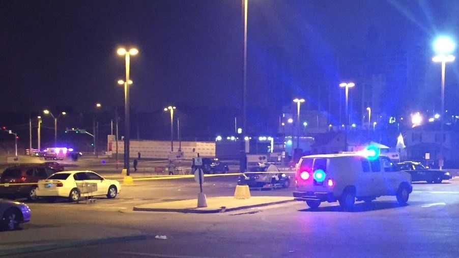 Kansas City Police Chief Darryl Forte confirms an officer-involved shooting at a Price Chopper.