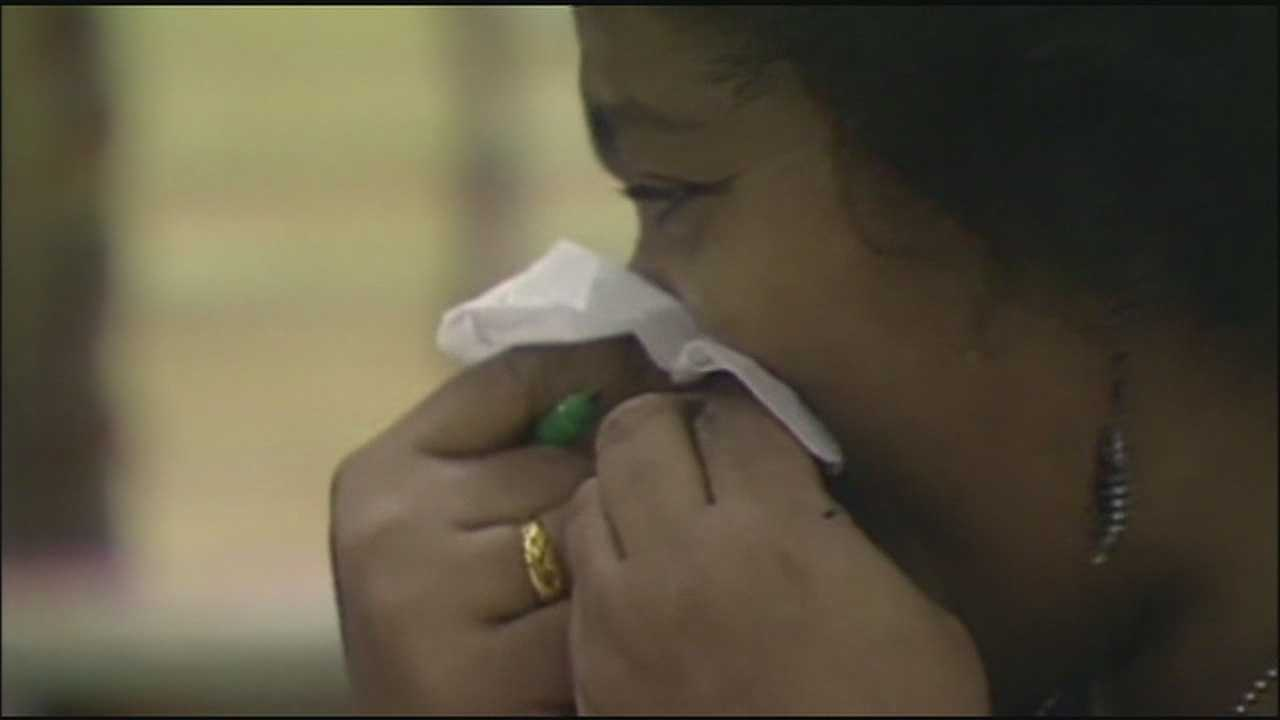 The University of Kansas Hospital said it's concerned about a capacity crunch as the number of flu cases rise to levels not recently seen.