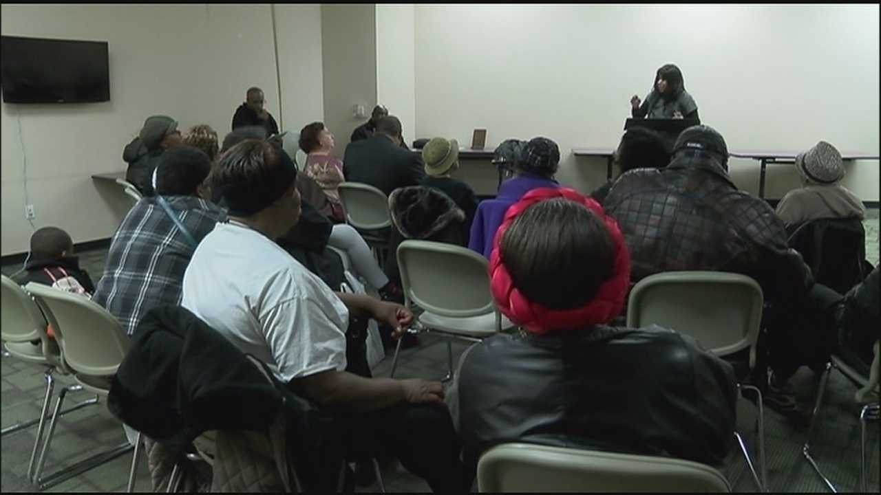 People living in Kansas City's Fifth District said they want a safer, less violent community, and some gathered Monday to share their visions for turning the area around.