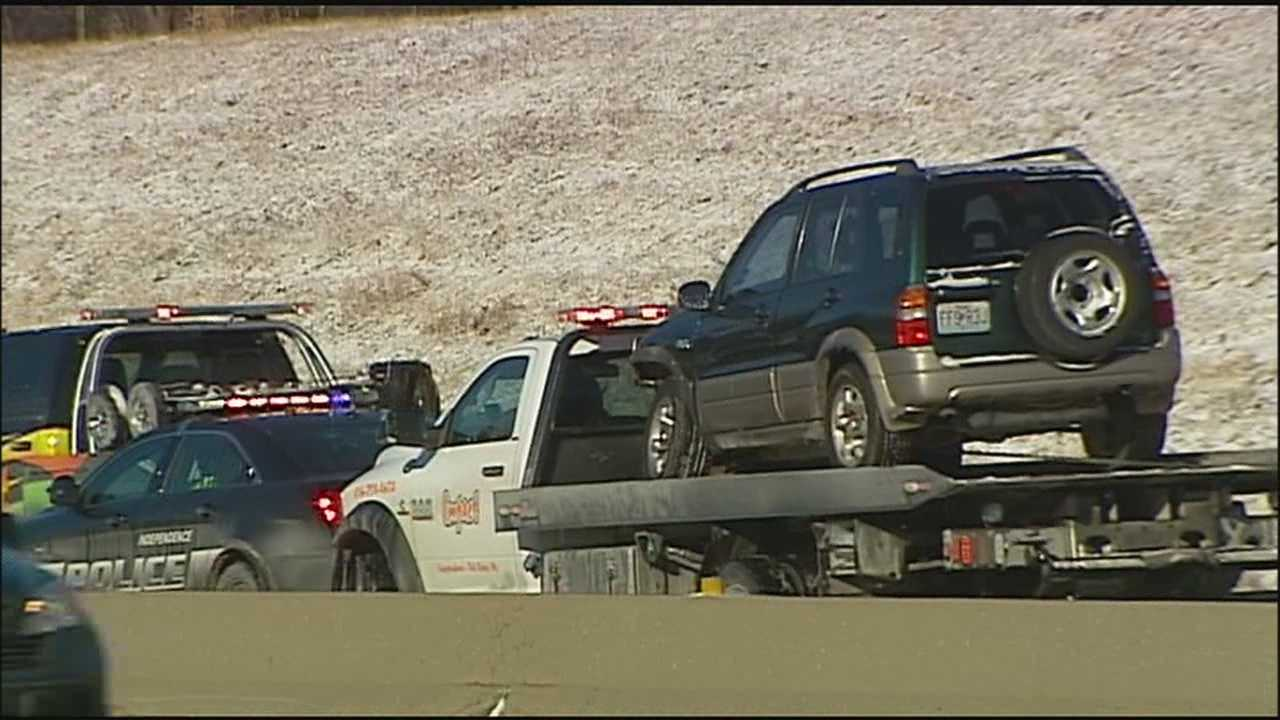 Cold weather and icy roads have meant a lot of business for tow truck drivers in the Kansas City area.
