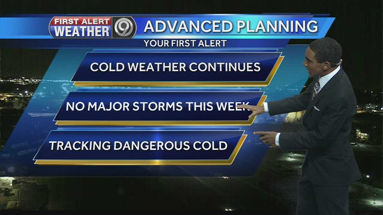 The KMBC 9 News First Alert Weather Team is tracking bitter, dangerous cold ahead for this week.