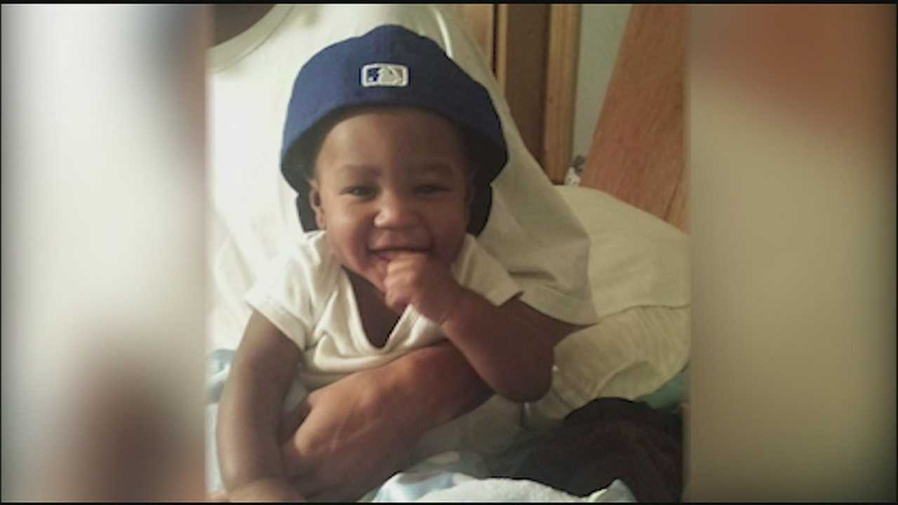 JaQuail Mansaw, a 7-month-old baby in Kansas City, Kansas, was killed in a drive-by shooting in early January.