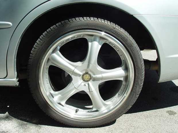 Check the tire pressure, including the spare, as tires can lose pressure when temperatures drop.