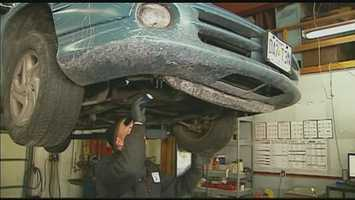Have the exhaust system checked for carbon monoxide leaks, which can be especially dangerous during cold weather driving when windows are closed.