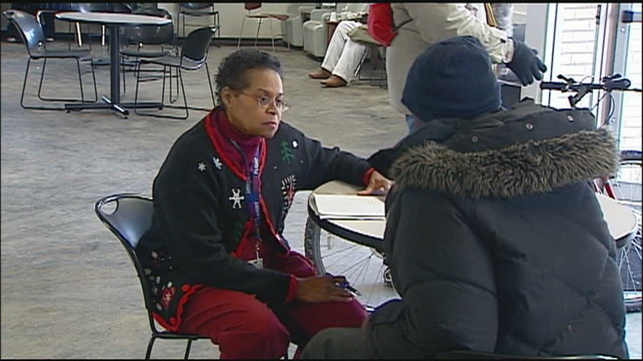 A community outreach center in Kansas City, Kansas, offers some special services to help homeless people change their situations.