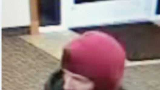 Police release surveillance images of a man who allegedly stole money from a Bank Northwest.
