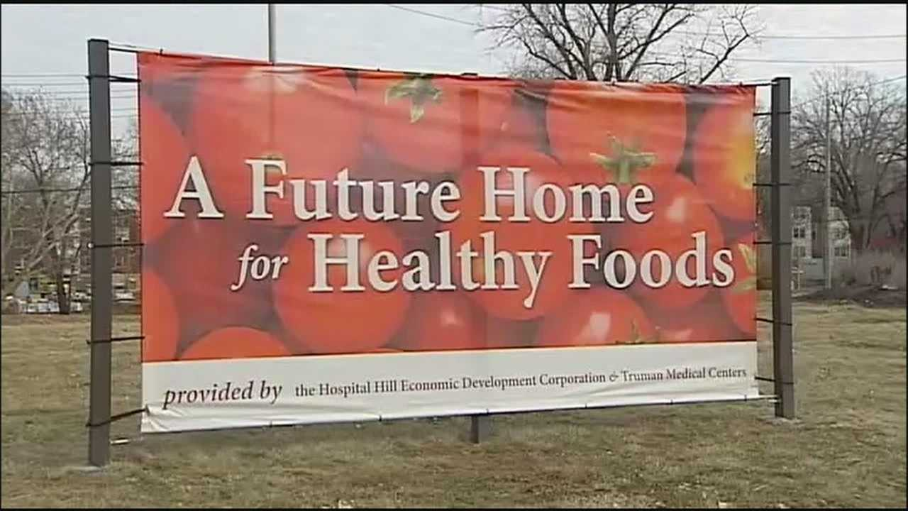 "Plans are in the works for an oasis in Kansas City's ""food desert."""
