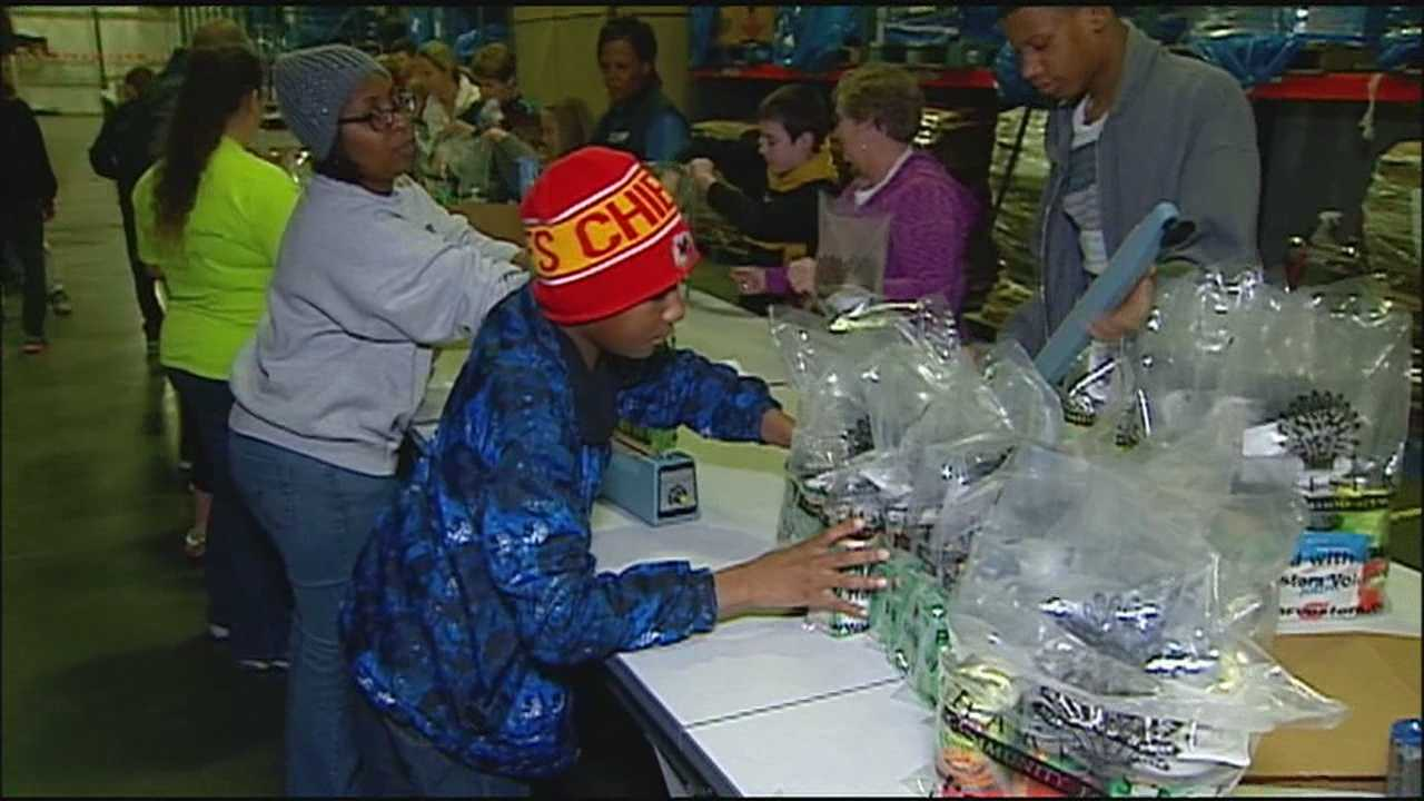 While schools and some businesses closed in observance of the Martin Luther King Jr. holiday, some volunteers are using the day to honor King's legacy through community service.