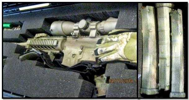 TSA: An assault rifle with 3 loaded magazines was discovered at the Dallas Love Field checkpoint.