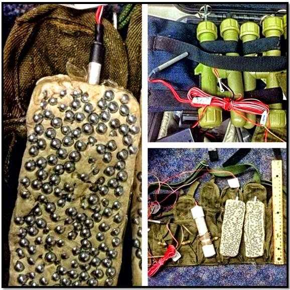 An improvised explosives device (IED) training kit was discovered in a checked bag at Honolulu.