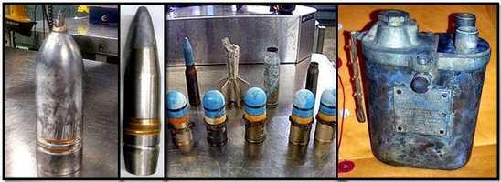 TSA: From the left, items discovered at: CVG, SEA, SAN, and ATL