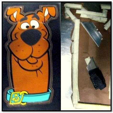 TSA: Razorblades were discovered concealed in a greeting card at Newport News/Williamsburg International Airport.