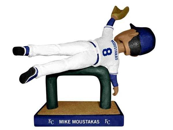 -6/20: Mike Moustakas commemorating his unbelievable catch