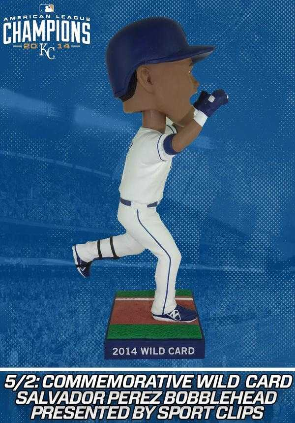 -5/2: Salvador Perez commemorating the 2014 Wild Card Game