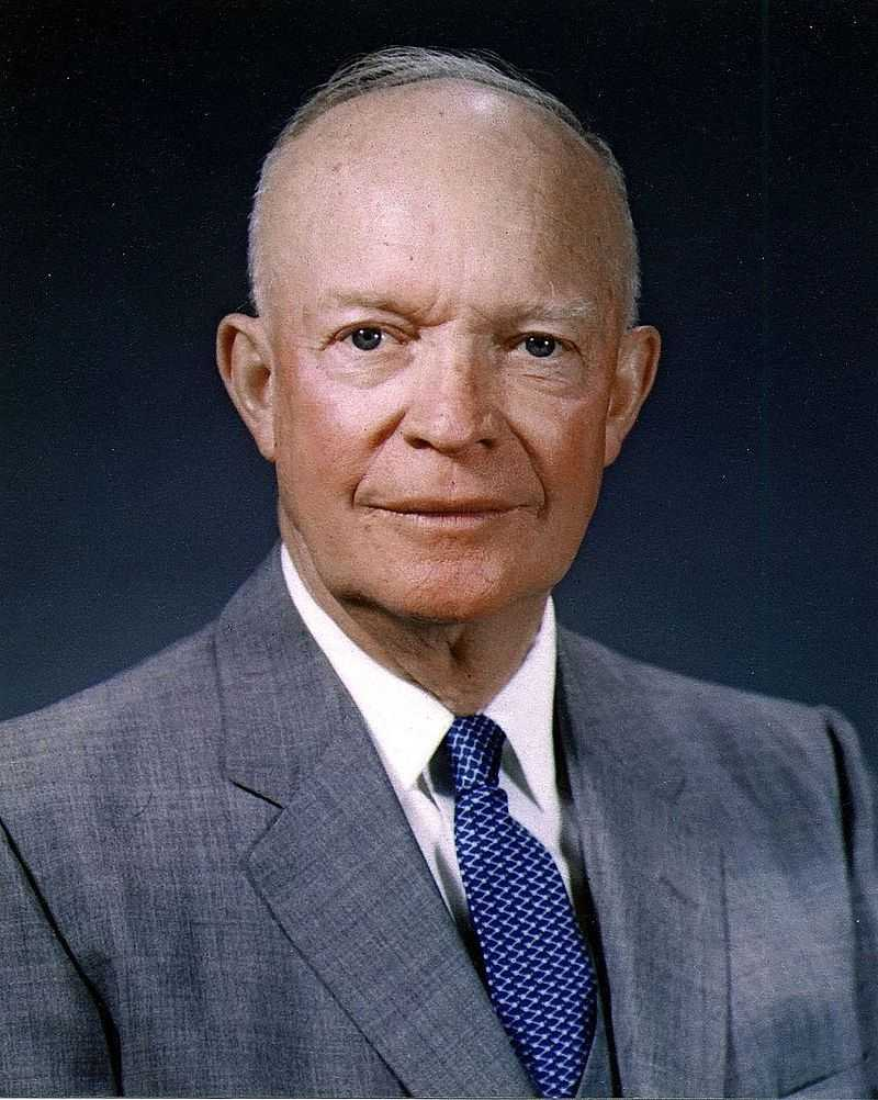 "Dwight D. ""Ike"" Eisenhower, the 34th President of the United States, grew up in Kansas.His presidential library and final resting place are located in Abilene."