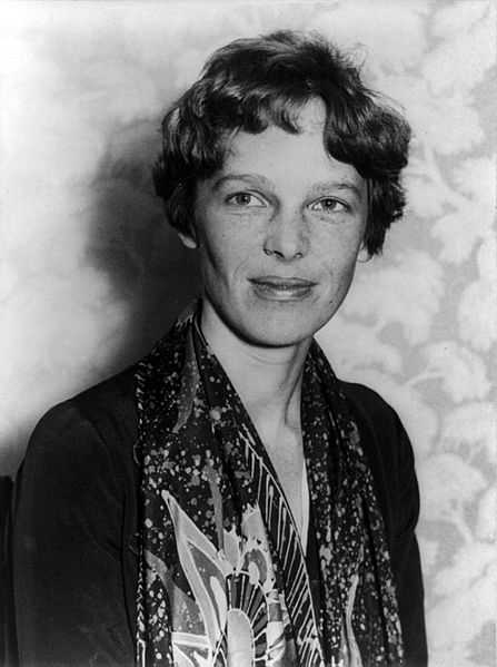 Amelia Mary Earhart, the first female to fly solo across the Atlantic, was born on July 24, 1897 in Atchison, Kansas.