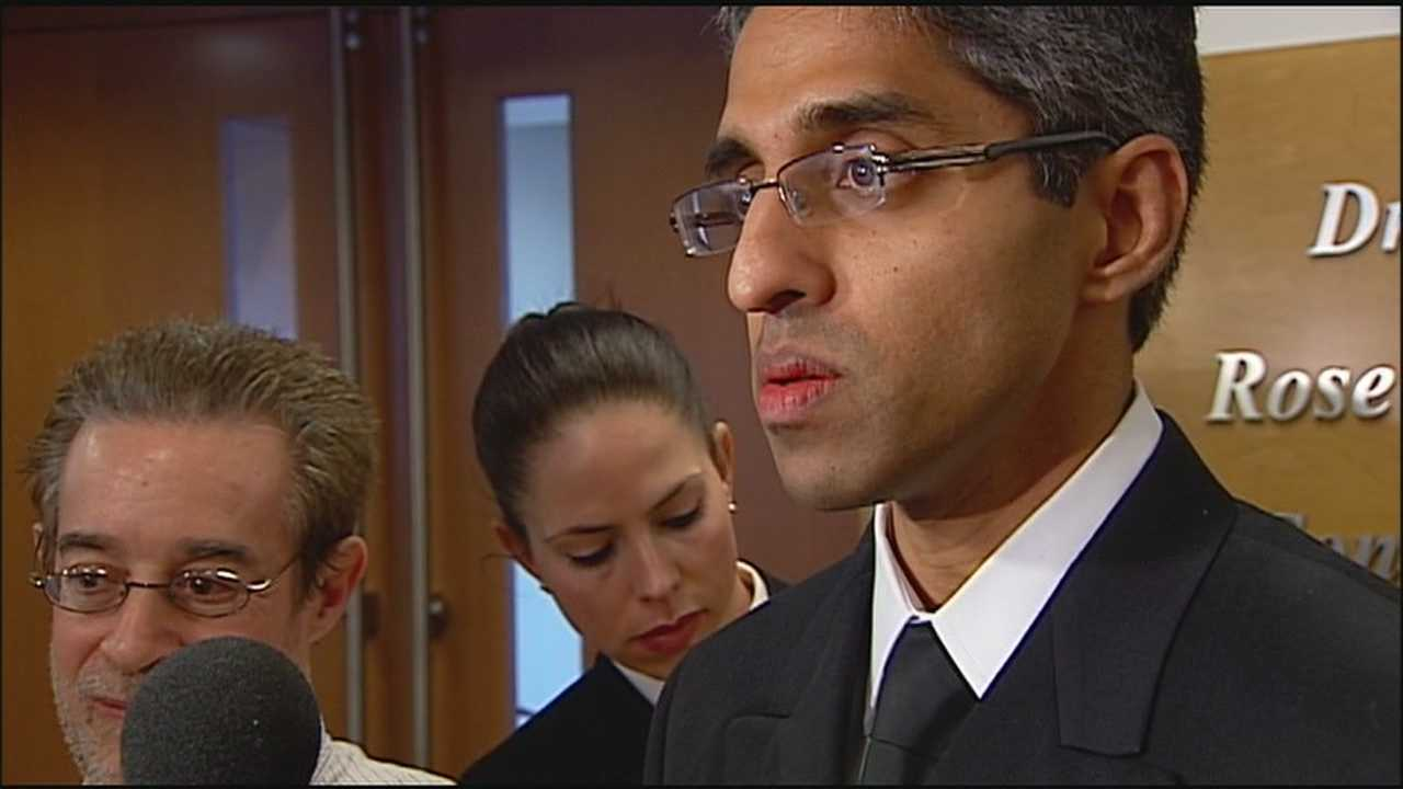 The U.S. Surgeon General visits the University of Kansas Hospital Thursday, the latest stop on a cross-country tour to discuss the Affordable Care Act.