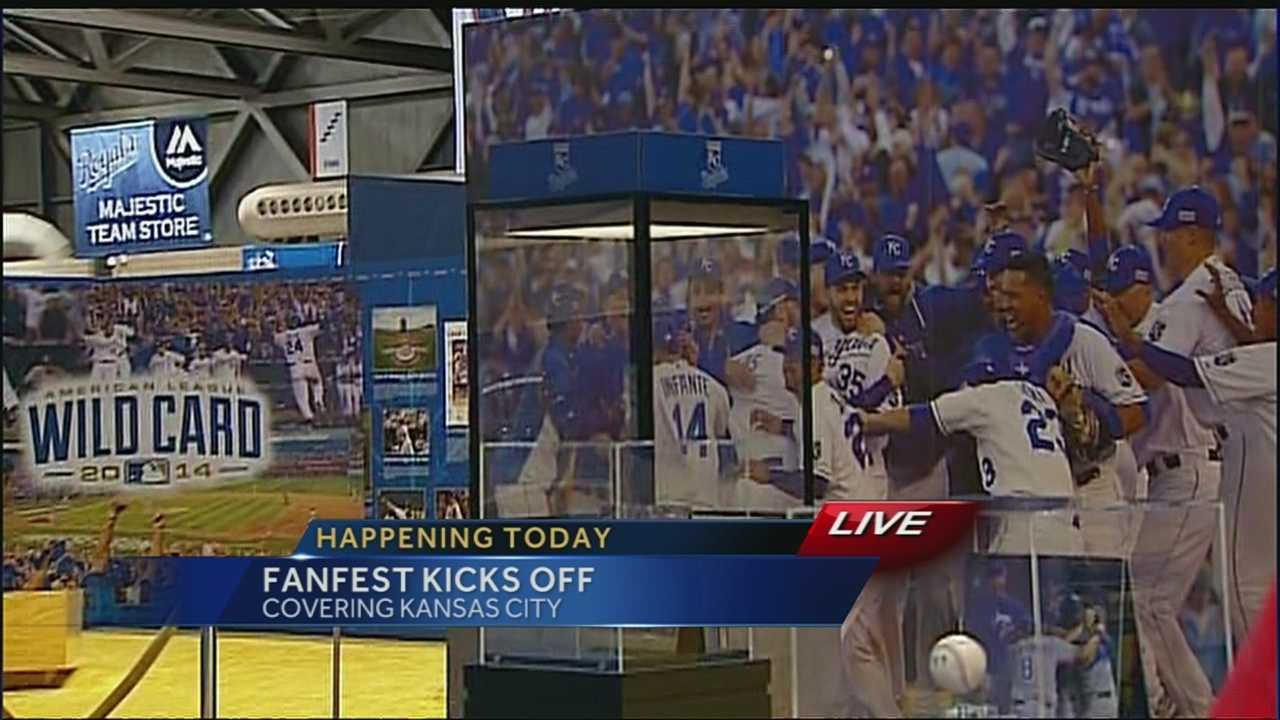 Large crowds are expected for Royals Fan Fest this weekend at Bartle Hall.