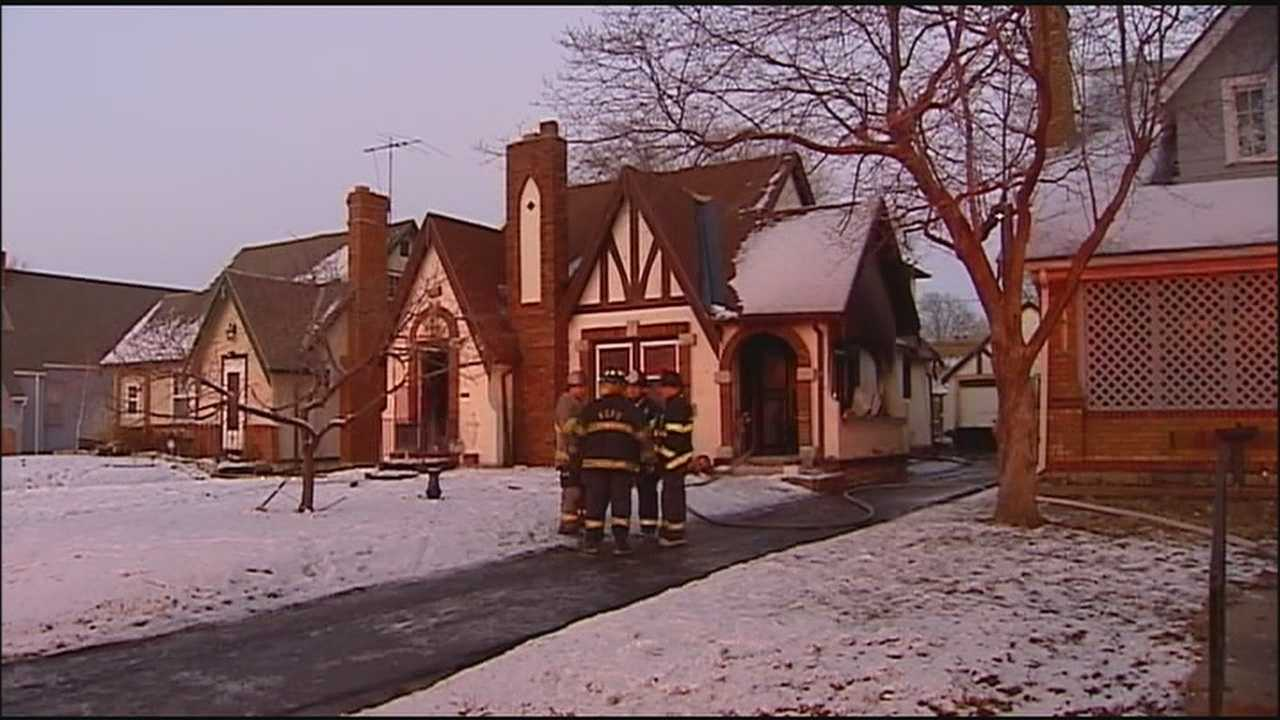 Firefighters said a 4-year-old boy was critically injured during a fire at a KC home Monday afternoon.