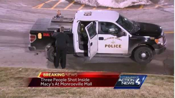 Two people are in critical, another in stable condition, after a shooting inside a Pittsburgh area Macy's.