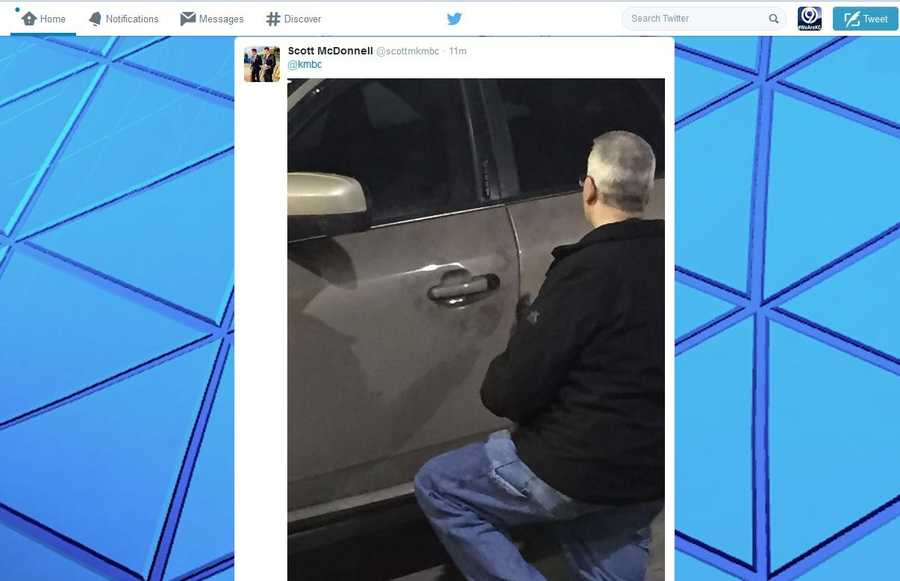 Immediately after a gold Ford 500 was found by police, detectives began dusting for finger prints. Click here for the full story.