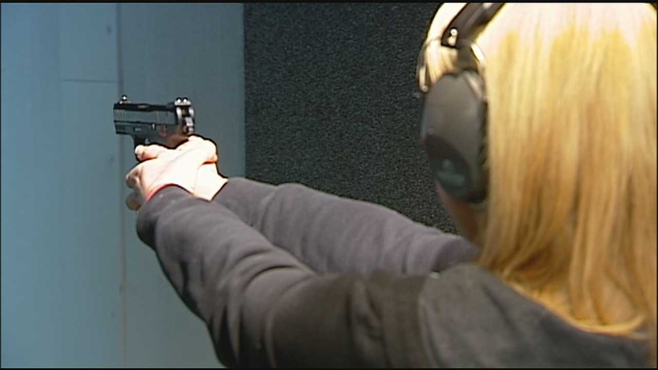 A recent study found that more women are buying firearms every year, and a new indoor shooting range in Lee's Summit is seeing the increase, too.